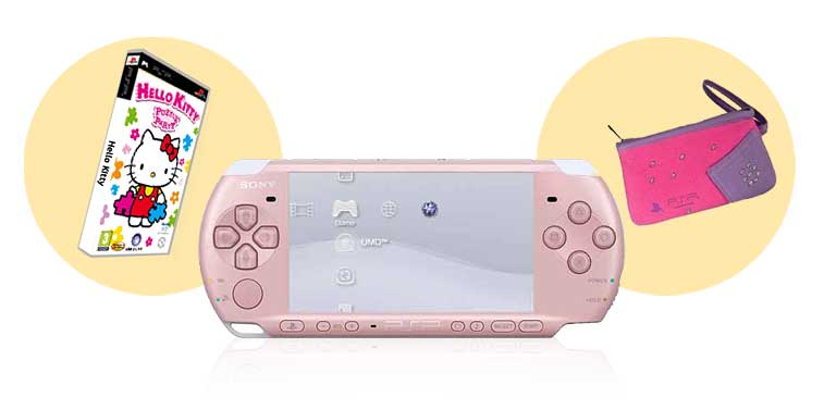 PSP HELLO KITTY SONY 3004