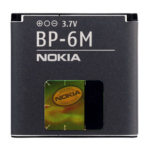 BATTERIA  NOKIA BP-6M ORIGINALE BULK